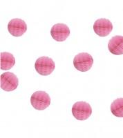 Mini-Wabenball-Girlande - 2,13 m - pink