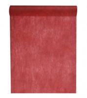 Tischläufer aus Vlies - burgund - 30 cm x 10 m