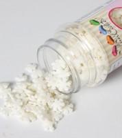 """FunCakes Zuckerdekore """"Schneeflocken"""" - weiß - 50 g"""