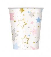 """Pappbecher """"Twinkle Twinkle Little Star"""" - 8 Stück"""