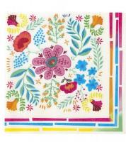 """Servietten """"Mexican Boho"""" - Floral - 20 Stück"""