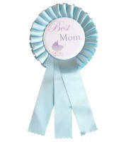 "Orden ""Best Mom"" - hellblau"