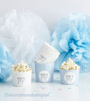 """Süßigkeitenboxen """"Ready to pop"""" - blau - 10-teilig"""