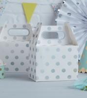 """Lunchboxen """"Pick and Mix"""" - Polka Dot - silber - 5 Stück"""