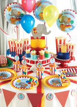 1 geburtstag junge deko serien 1 geburtstag baby for Zirkus dekoration