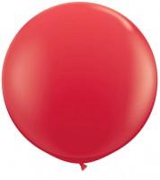 Riesiger Rundballon - rot - 90 cm