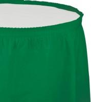 Tischverkleidung - emerald green - 4,26 m