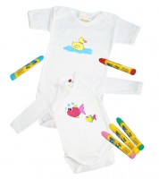 Baby Textilmal-Set Basis - 9-teilig