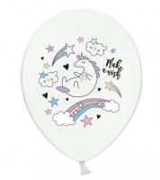 """Luftballons """"Einhorn und Sterne - 50 Stück"""