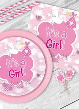 Baby Shower Deko für Mädchen Deko Serien Babyparty