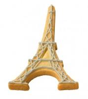 Ausstechform mit Innenprägung Eiffelturm - 10 cm
