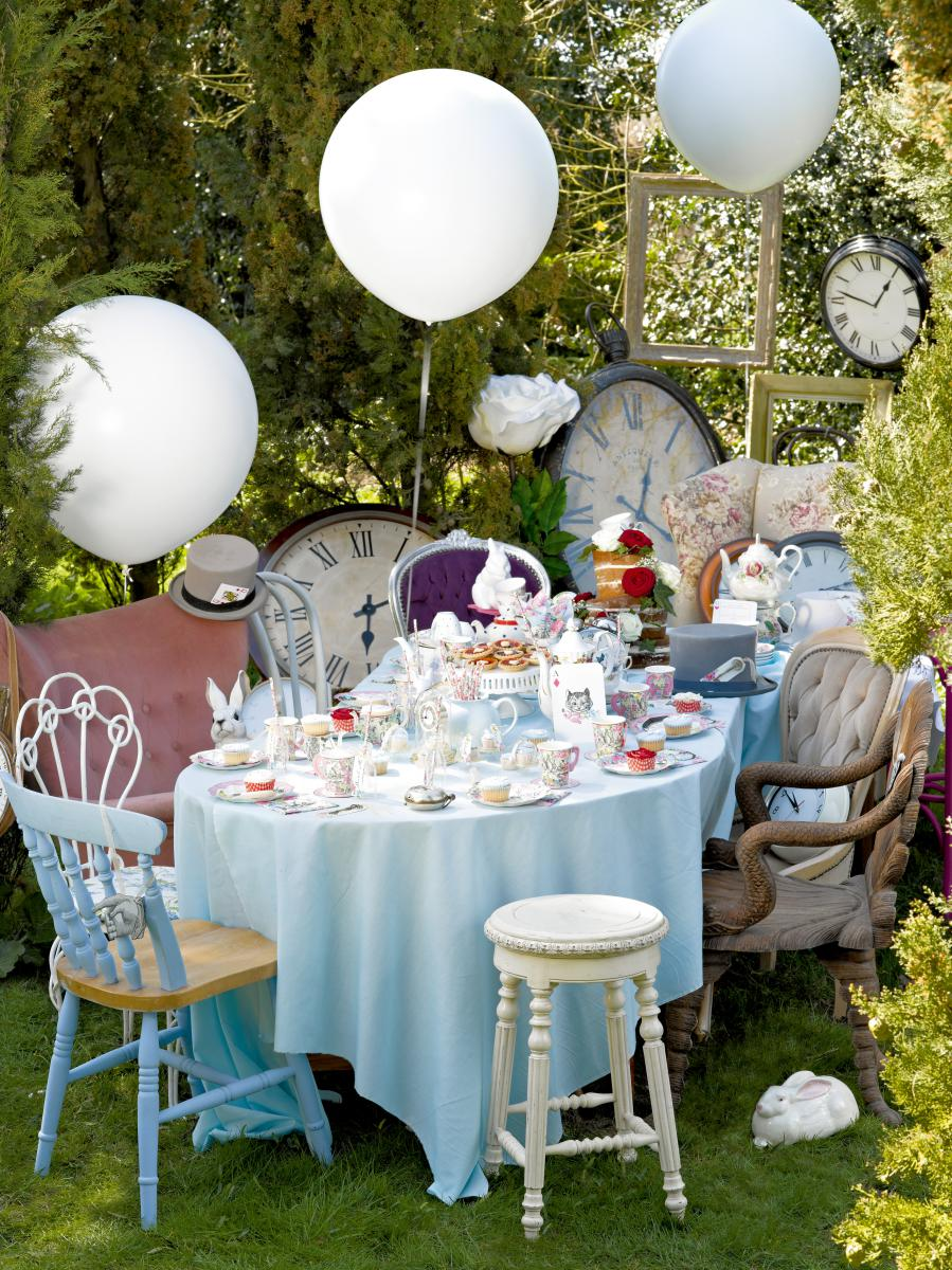 alice_im_wunderland_party_deko_tea_kaffee_ballon_geburtstag 21 Beautiful Einladung Kindergeburtstag Fasching