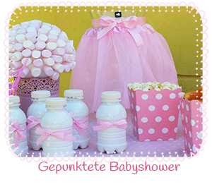 Babyparty ideen galerie baby belly party blog for Baby shower party deko