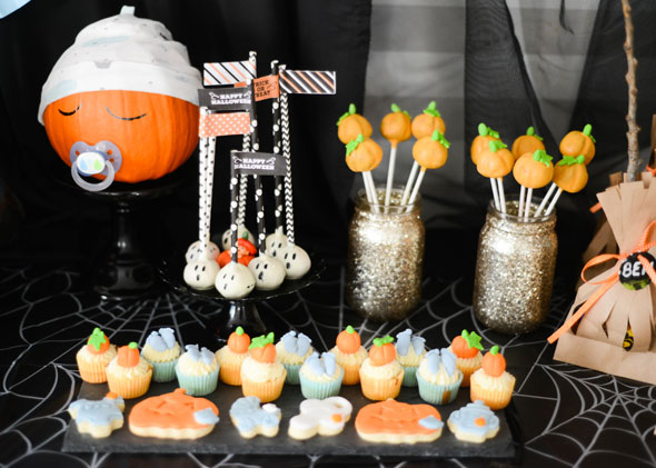 halloween babyparty tipps und ideen von baby belly party. Black Bedroom Furniture Sets. Home Design Ideas