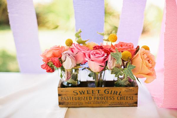 Blumiges Gastgeschenk zur Babyparty - sag das Danke durch die Blume!