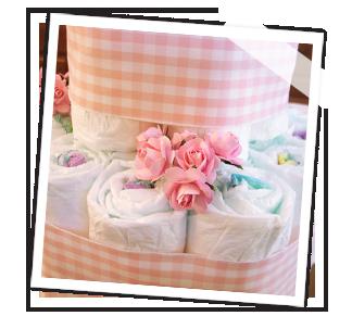 Bastelanleitung Windeltorte Baby Belly Party Blog