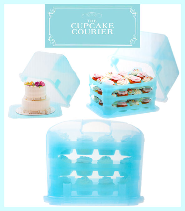 Cupcake Transportbox Cupcake Courier