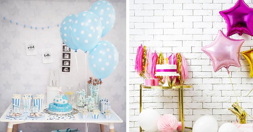 Entscheide dich zum 1. Geburtstag für ein Farbkonzept deiner Deko