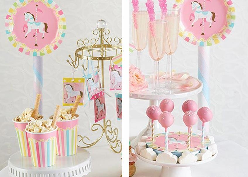 So wird die Candy Bar zum 1. Geburtstag deiner Tochter zu einem Jahrmarkt-Schlaraffenland