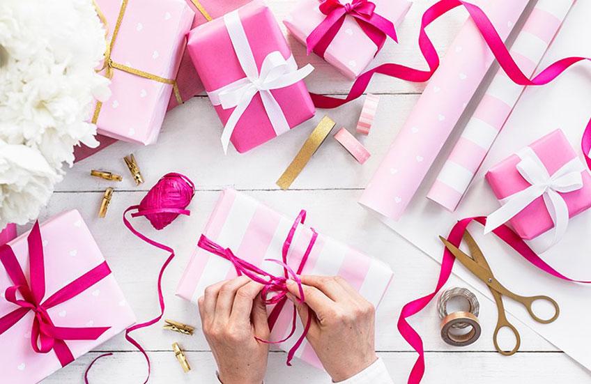 Egal was du verschenkst - mit einer liebevollen Geschenkverpackung wird es gleich noch viel schöner!