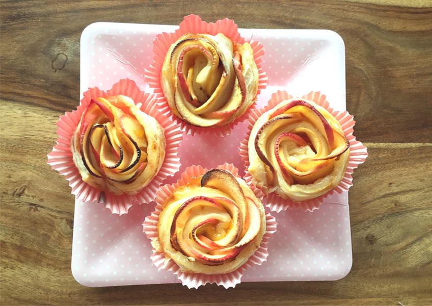 Originell und super lecker: Apfel-Röschen