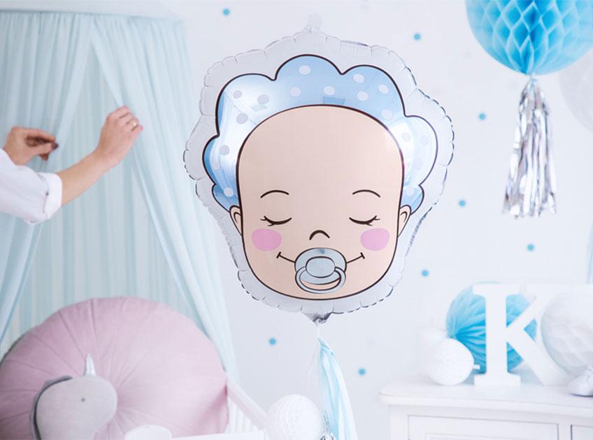 Verschenke einen süßen Baby-Ballon für Babys erstes Zimmer