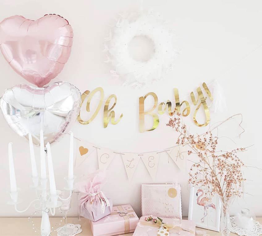 Geschenke Für Die Babyparty Hübsch Verpacken C Clovesc