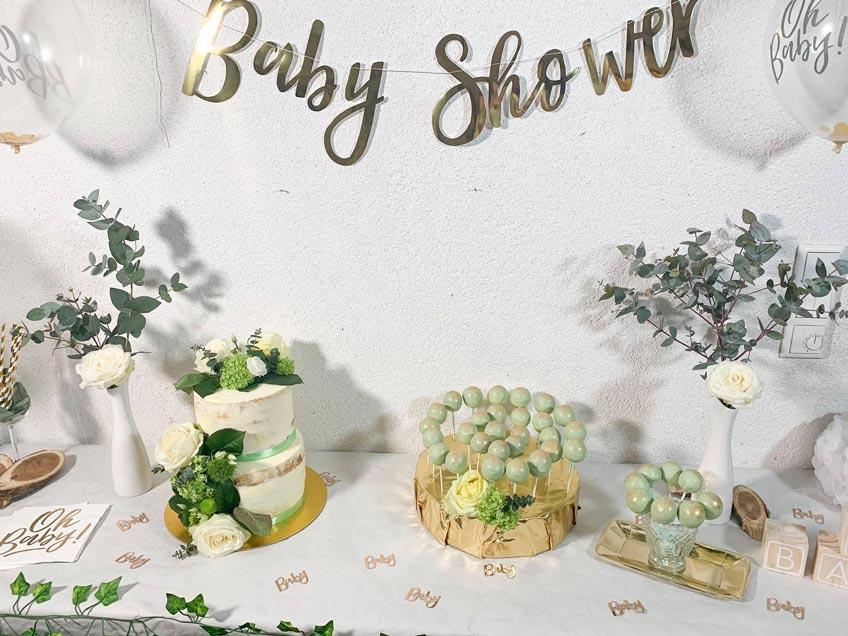 Deine Babyparty im Greenery-Stil braucht Deko mit Holz und Grün (c)-allaboutanna_yt