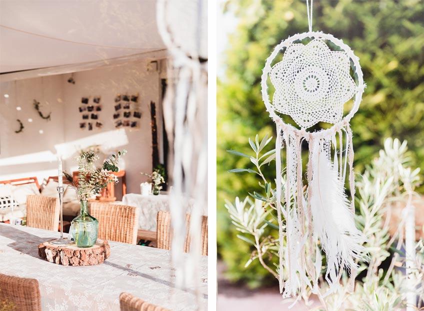 Wunderschöne Traumfänger & Windspiele für die Babyparty findest du in unserem Shop © juliafashionblonde