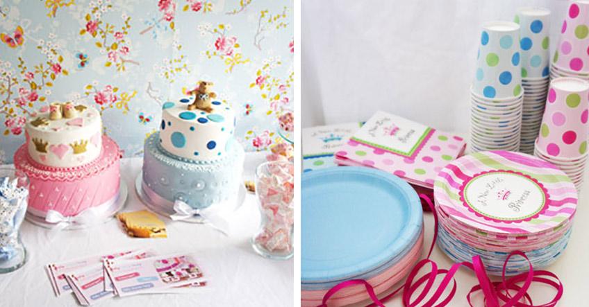 Mach zur Babyparty für Zwillinge einen gemischten Sweet Table (c) PRI & PRI