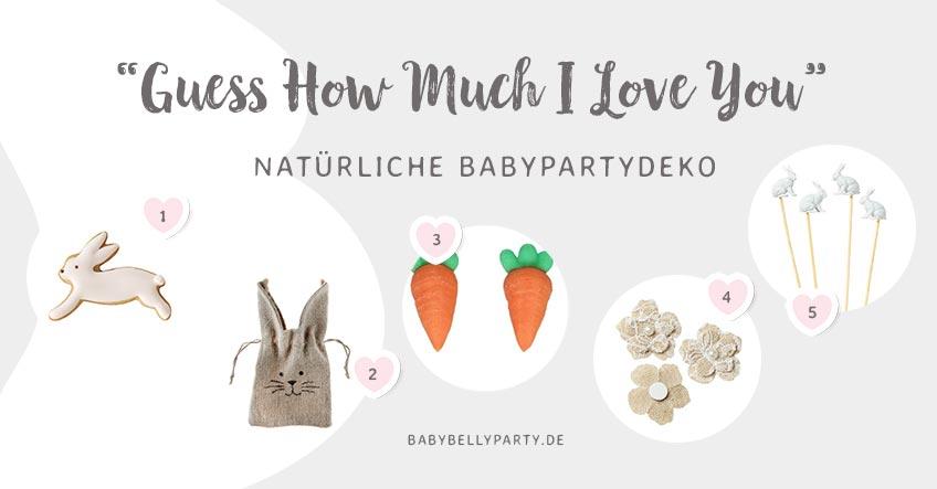 Unsere Tipps für die neutrale Babyparty mit Kinderbuch-Motto