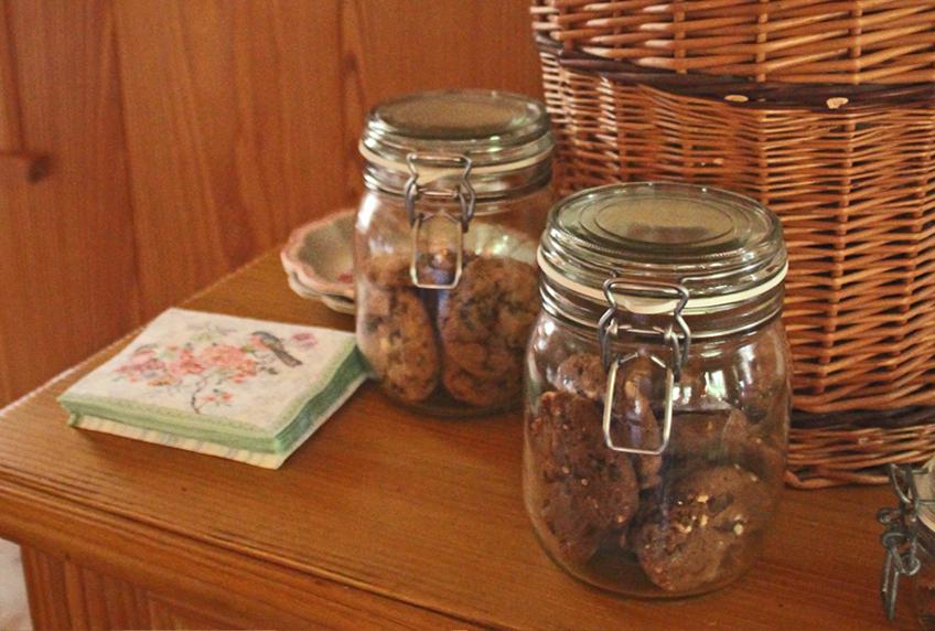 Cookies und Kekse im Einmachglas für den kleinen Hunger zwischendurch