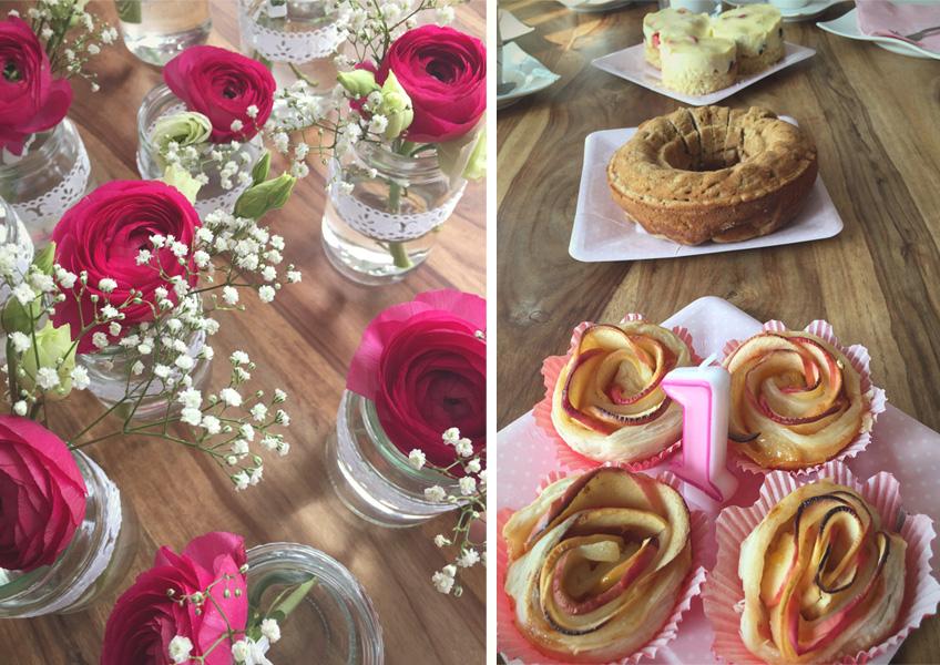 Vasen für kleine Blumensträuße & Kuchenideen