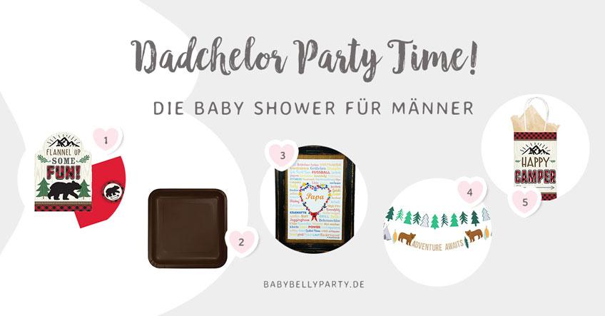 Noch mehr passende Extras für die Dadchelor Party findest du in unserem Shop!