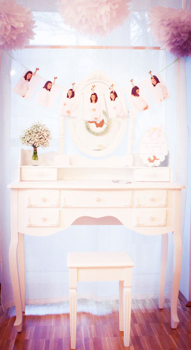 Diy Babyparty Girlande Baby Belly Party Blog