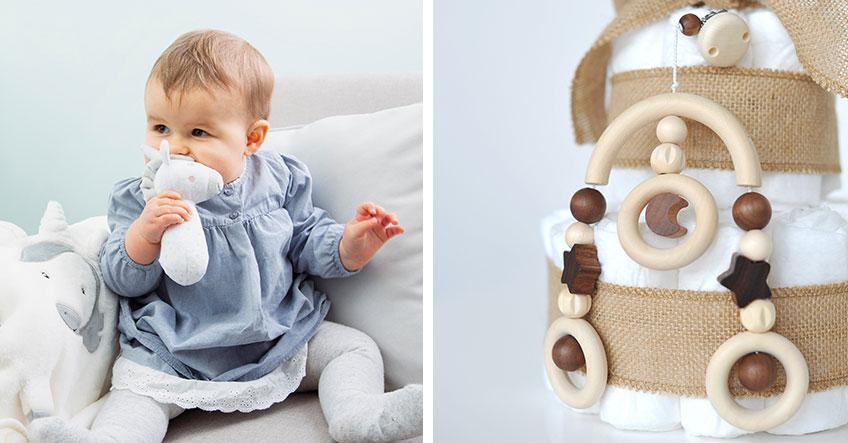 Ob zur Geburt oder auch schon zur Babyparty - Geschenke für das Baby sind immer gerne gesehen!