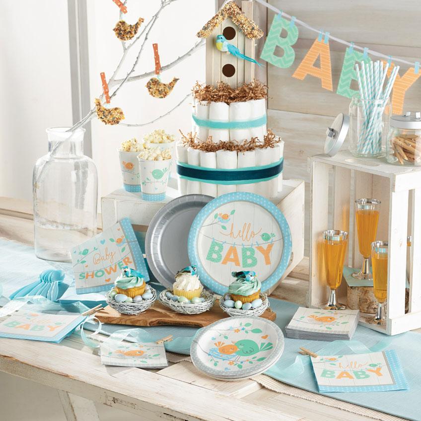 eure baby shower mit v gelchen blitzschnell und originell umgesetzt baby belly party blog. Black Bedroom Furniture Sets. Home Design Ideas