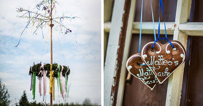 Motto-Taufe mit Kirchweih und ländlicher Deko (c) Carletto Photography www.carletto.at