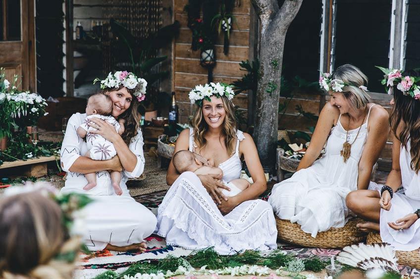 Beim Mama Blessing können auch Babys dabei sein (c) Avalon Lane feat. on sistersandthesea.com