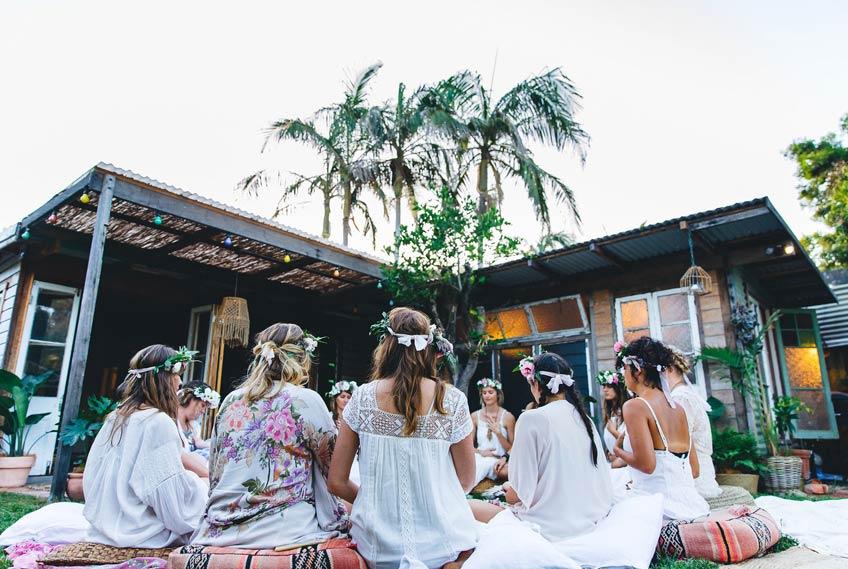 Lass dich auf die Rituale des Blessing Way ein - sie werden dir gut tun (c) Avalon Lane feat. on sistersandthesea.com