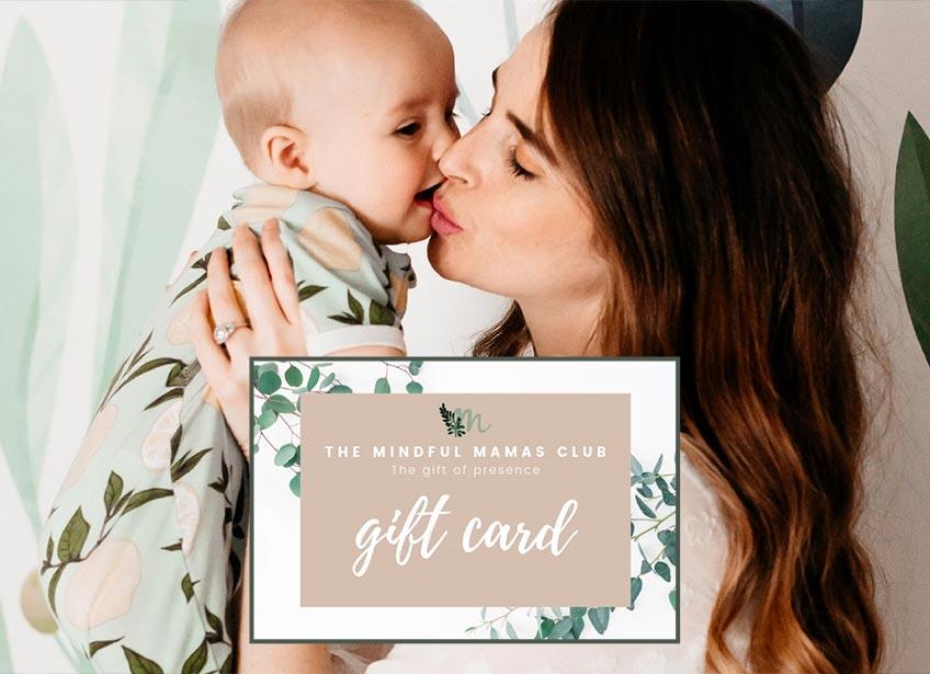 Achtsame Geschenkidee für Mamas - Ein Mindfull Mamas Club Gutschein für den Shop (c) Mindful Mamas Club