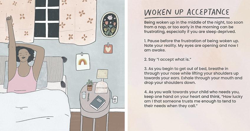 Lerne achtsam zu sein, sobald du deine Augen öffnest (c) Mindful Mamas Club