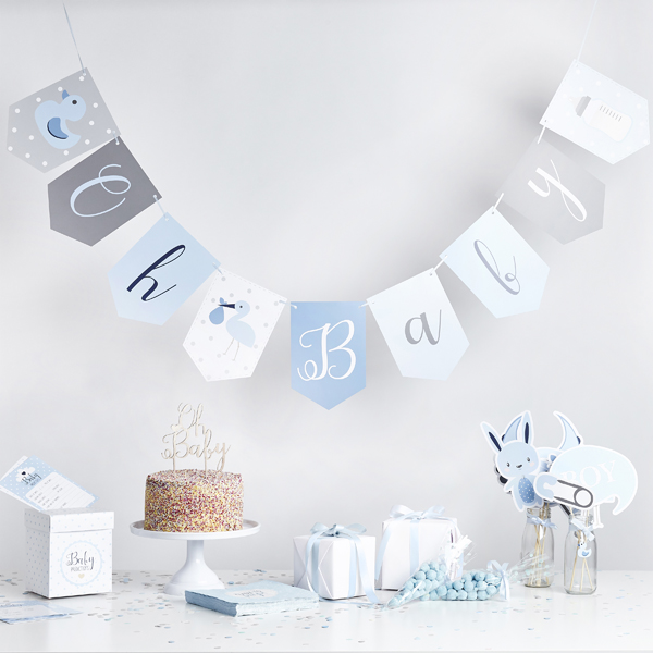 Babyparty Junge | Baby Belly Party Blog