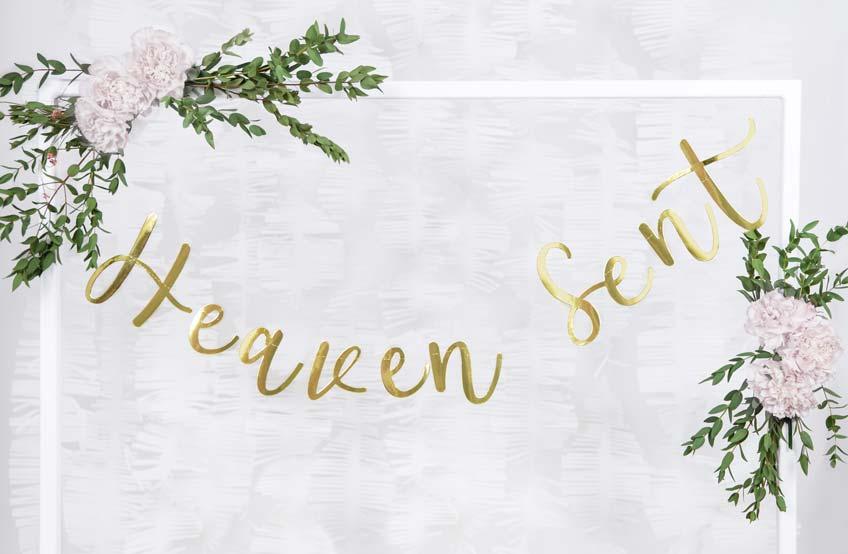 Dekorier deine Taufe mit himmlischer Deko