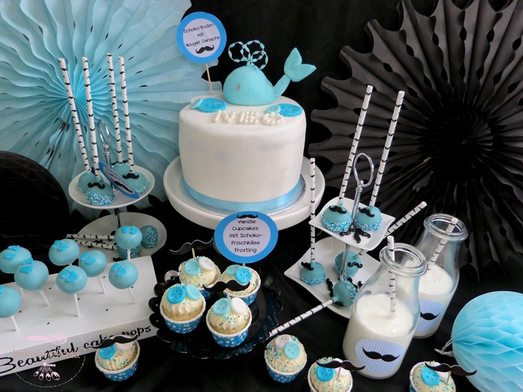 Essen trinken baby belly party blog for Baby shower party junge