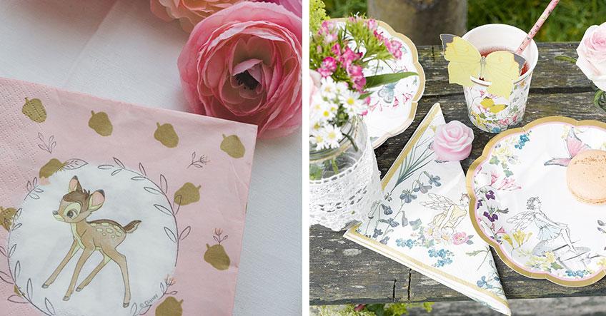 Tiere und Feen passen auch zur floralen Babyparty im Frühling (c) sandrasara__
