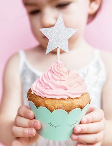 Ob Team Rosa oder Blau: Der Sternchen-Pastell-Mix zum 1. Geburtstag