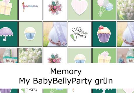 """Das Babyparty-Spiel """"Baby Memo"""" von uns für dich als Gratis-Download"""