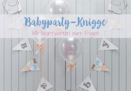 Wir beantworten eure Fragen zur Baby Shower Party