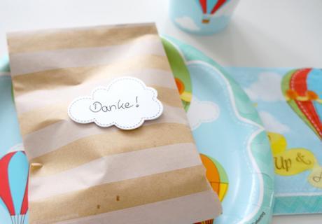 Verpackung für Gastgeschenke mit eigener Note